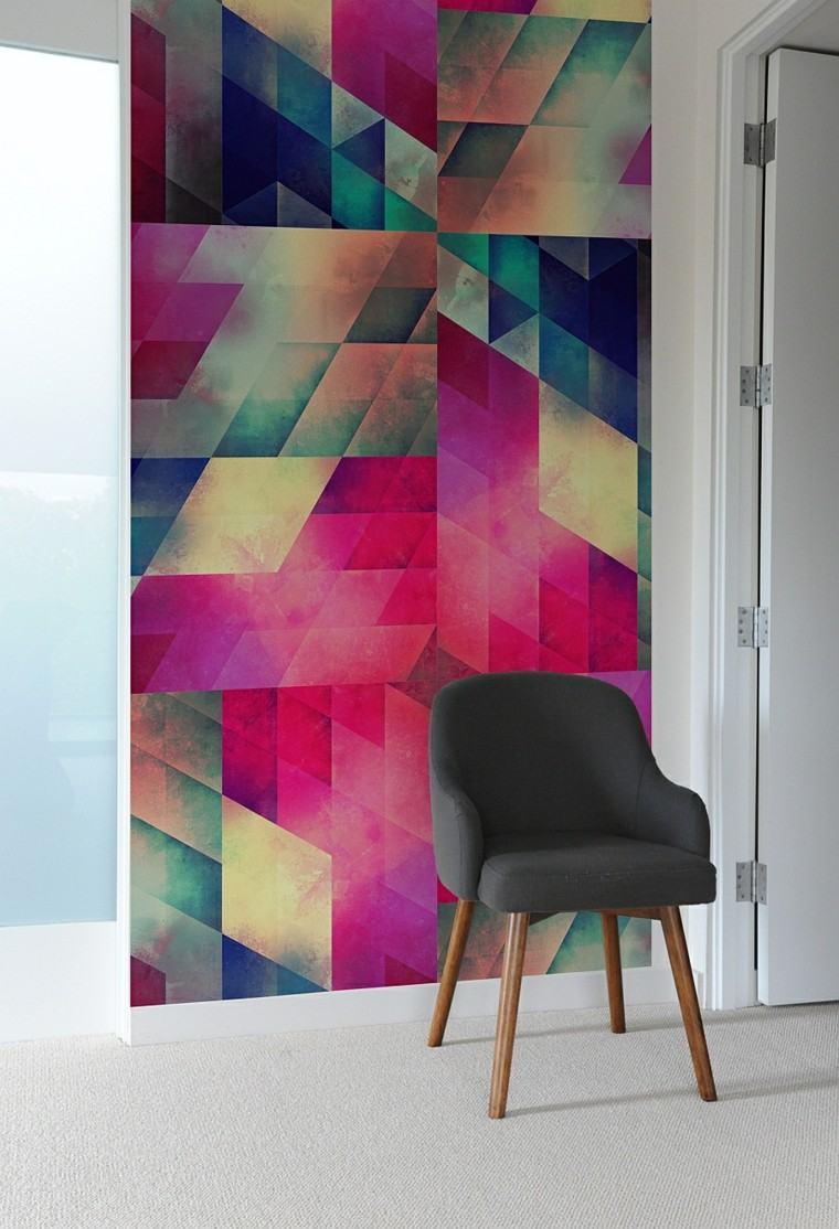 cuadro moderno pintura muro pared