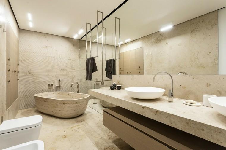 Baños Modernos De Marmol:Cuartos de baño con marmol – ideas únicas de ensueño