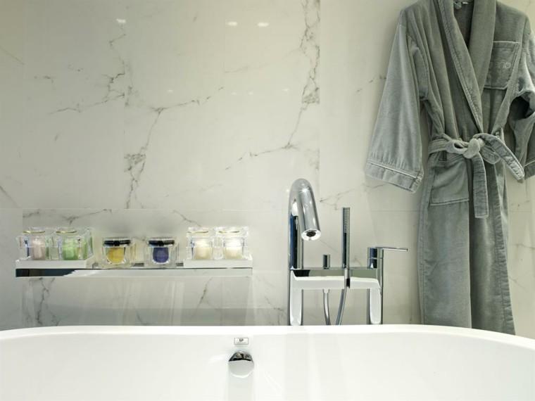 Baños Modernos Marmol:Cuartos de baño con marmol – ideas únicas de ensueño