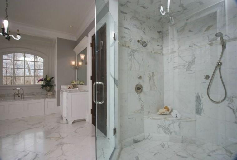 Azulejos Baño Marmol:Cuartos de baño con marmol – ideas únicas de ensueño