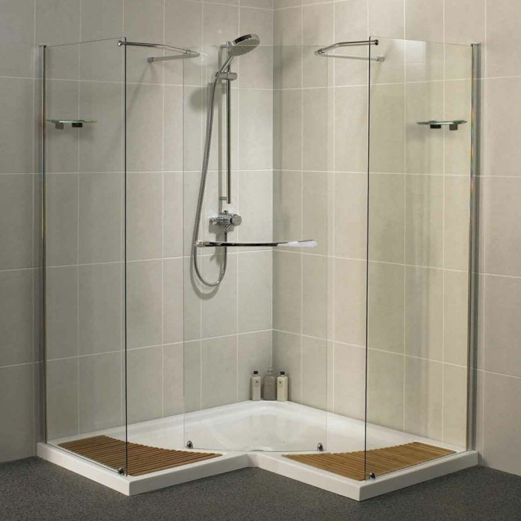 Cuartos de ba o con ducha y ba era muy singulares for Diseno de cuartos de bano con ducha
