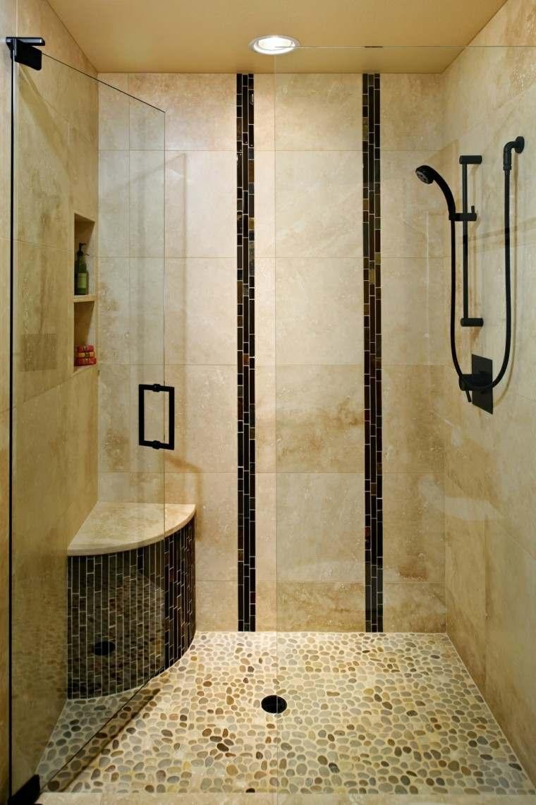 Baños Con Ducha Negra:cuartos de bano con ducha negra baldosas beige