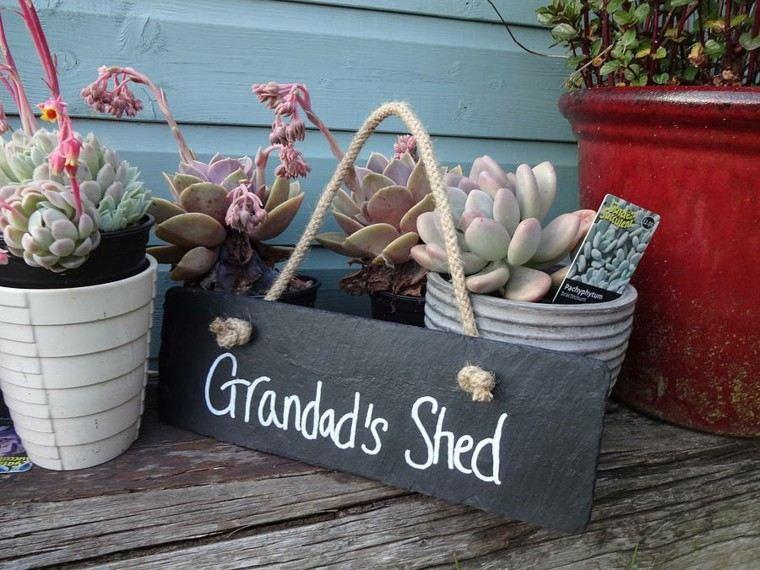 accesorios jardin estilo retro