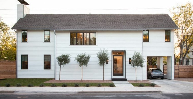 decoracion moderna casa diseo garage