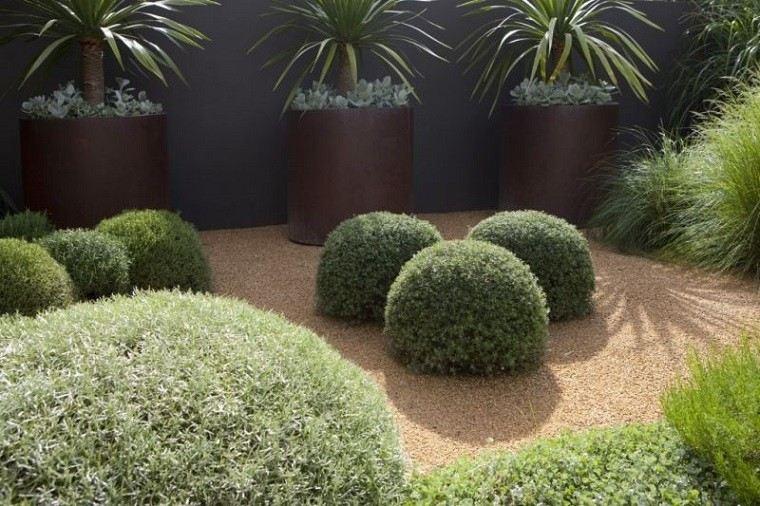 delimitar zonas plantas arena