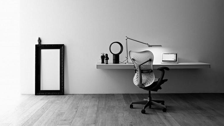 despacho estilo minimalista escandinavo