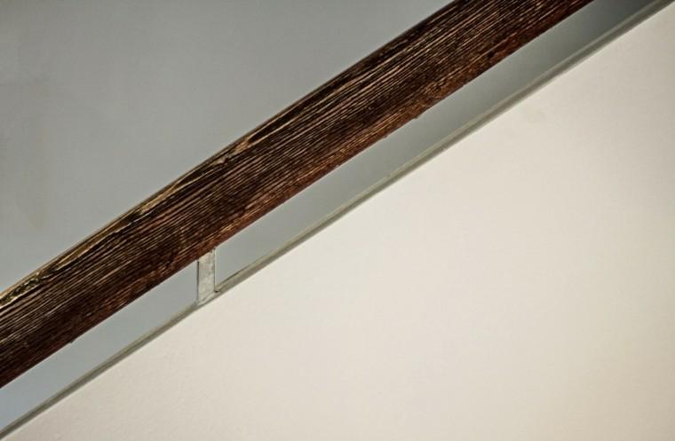 diseño arquitectura madera detalle escalera