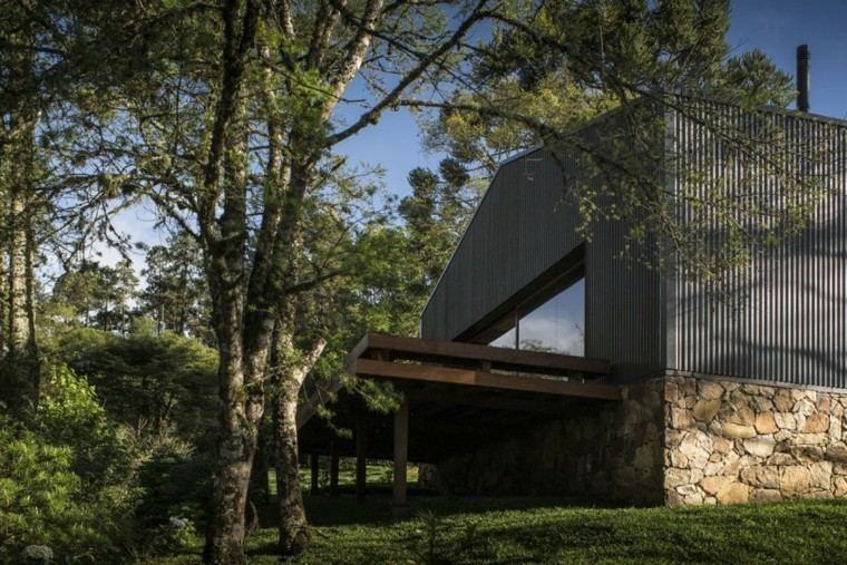 diseño arquitectura moderna exterior porche
