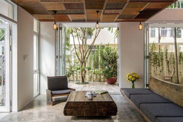 diseño arquitectura muebles flores mesa