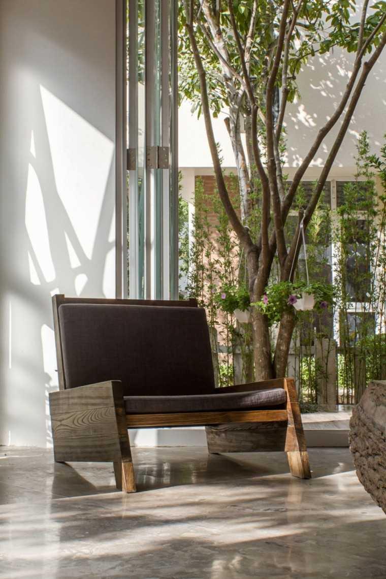 diseño arquitectura sofa arbol madera muebles