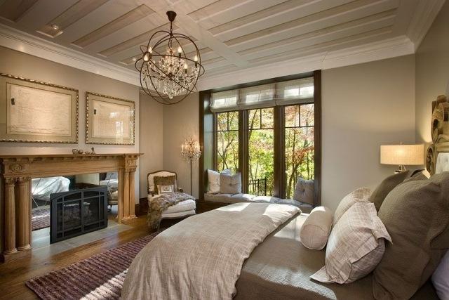 diseño estilo clasico dormitorio grande