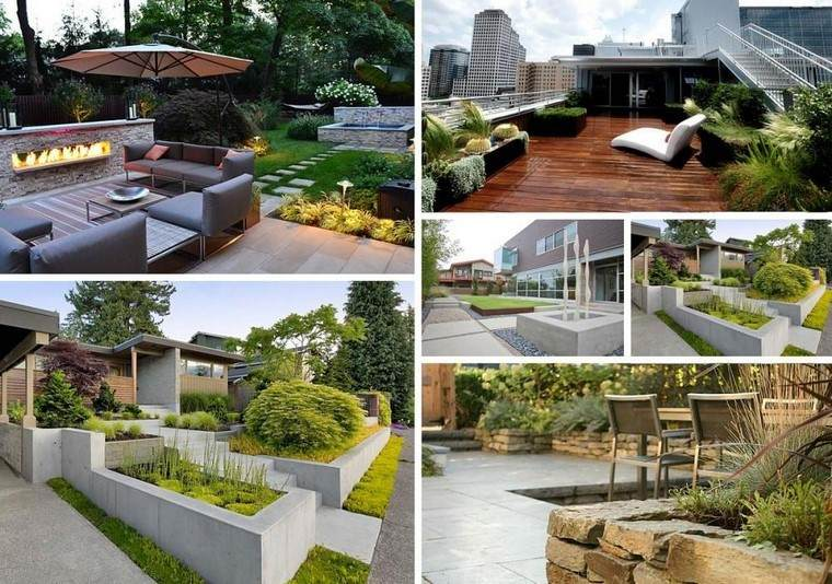 Dise o de jardines modernos 100 ideas impactantes for Ideas jardin