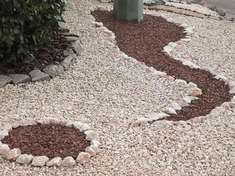 Arena y gravilla para el dise o de jardines modernos - Arena para jardin zen ...