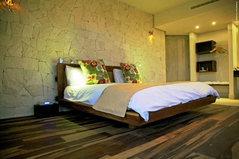 diseño dormitorio estilo moderno suelo
