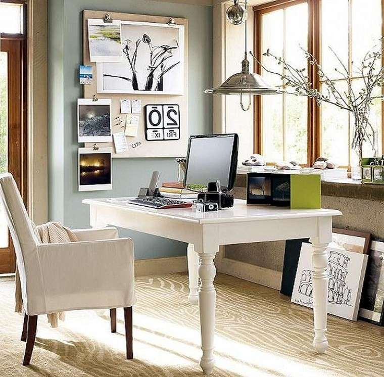 Creative Home Office Ideas For Small Spaces: Oficinas Y Estudios Con Diseños De Estilo Escandinavo