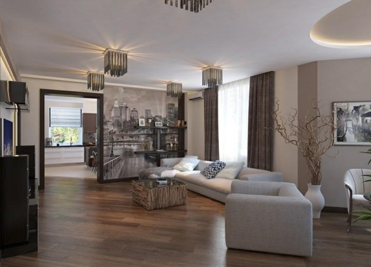 diseño interiores sala colores neutros
