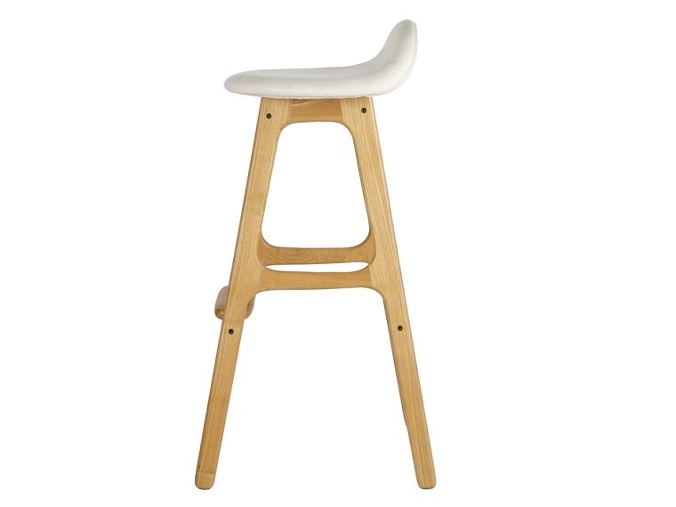 diseño madera atornillado blanco respaldo