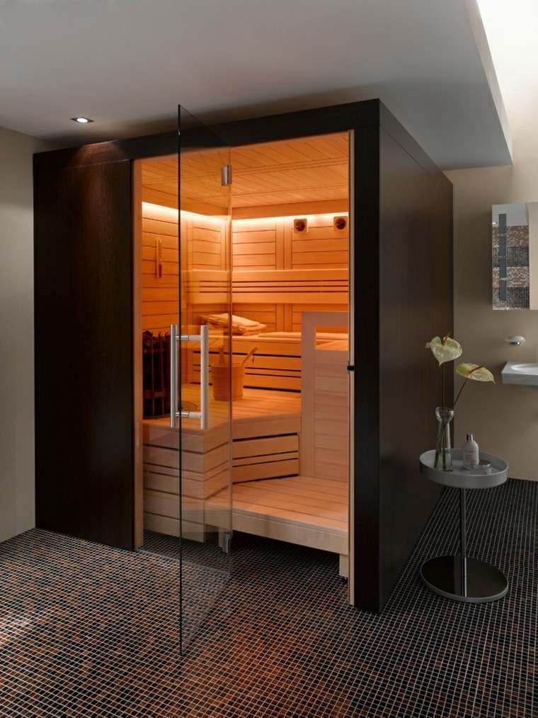 diseño moderno sauna modelo supreme