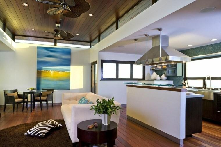 diseño moderno loft parquet