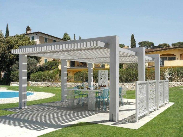 Pergolas de madera para el jard n m s de cincuenta ideas - Pergolas de aluminio para jardin ...