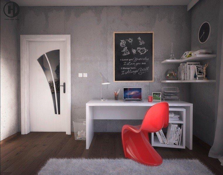 diseño moderno zonas trabajo