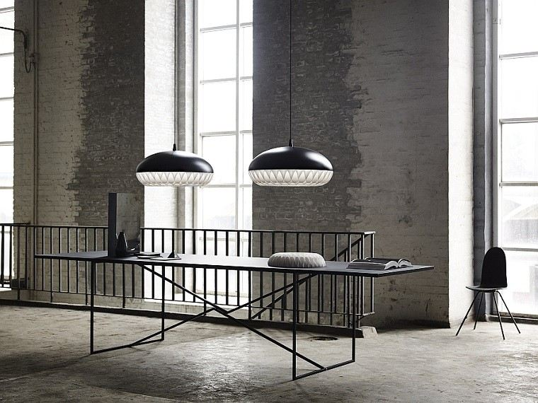 diseo oficina estilo industrial minimalista