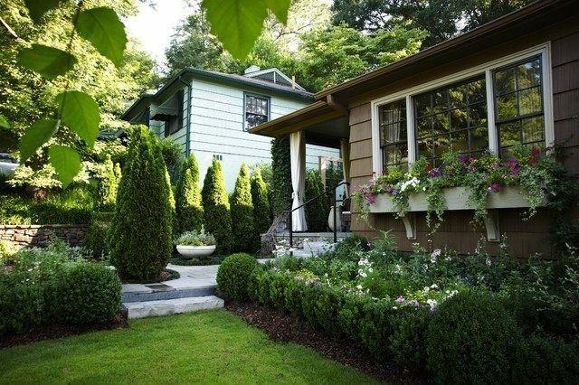 diseño paisaje jardin bonito plantas