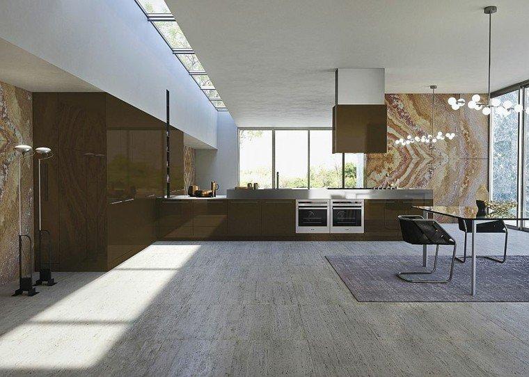 diseño singular iluminado espacio muebles