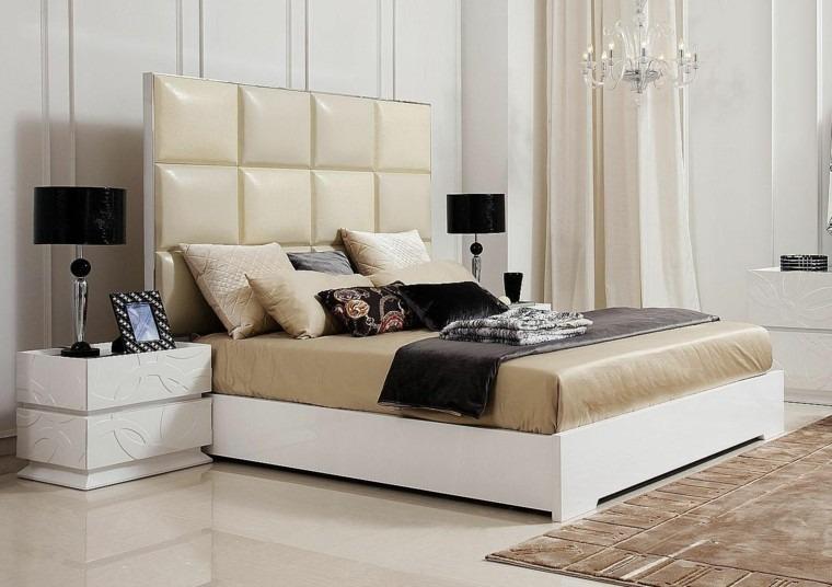dormitorio amplio luminoso cabecero diseno ideas