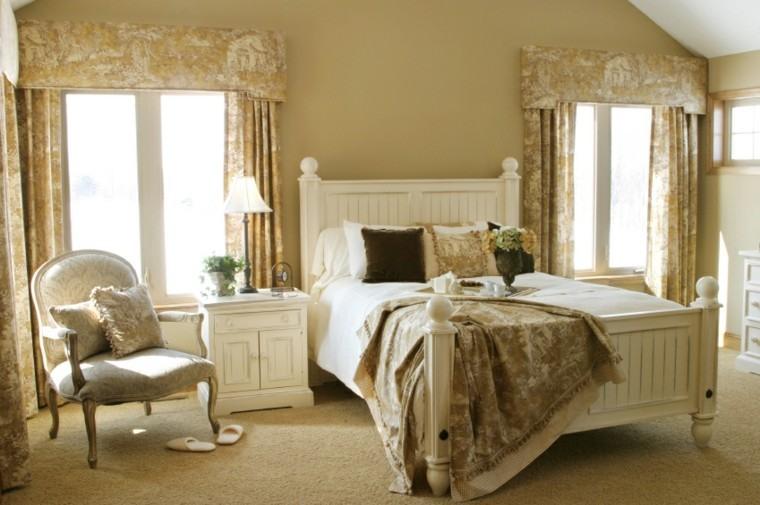 cama silla mesita noche madera blanca ideas