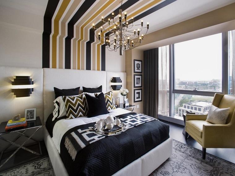 dormitorio colores pared ideas varios oscuros moderno