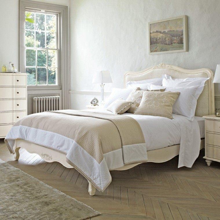 Belleza y estilo en dormitorios con dise o escandinavo - Dormitorio beige ...