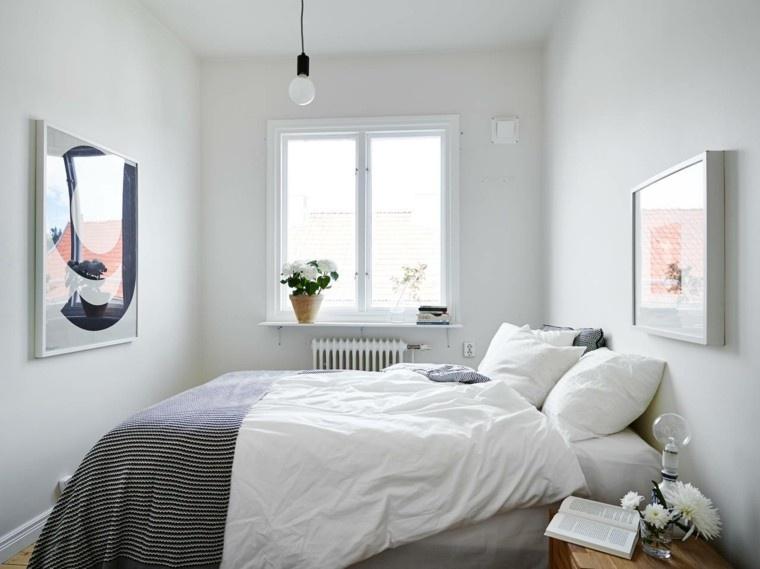 Belleza y estilo en dormitorios con dise o escandinavo - Diseno dormitorio ...