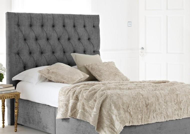 Belleza y estilo en dormitorios con dise o escandinavo for Cama diseno