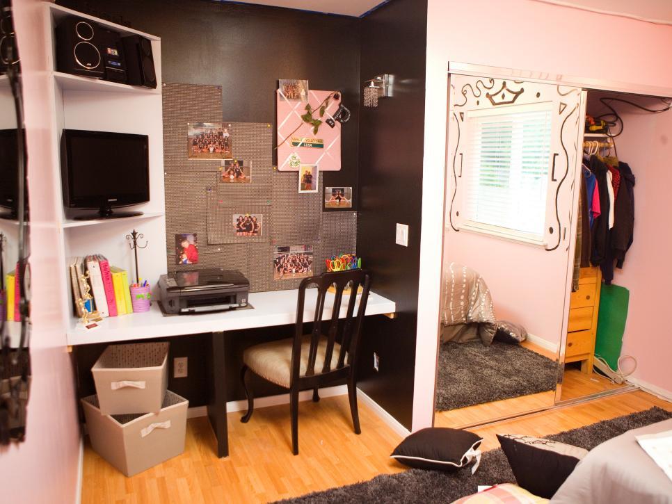 Dormitorios juveniles 100 ideas para tu adolescente - Escritorio para habitacion ...