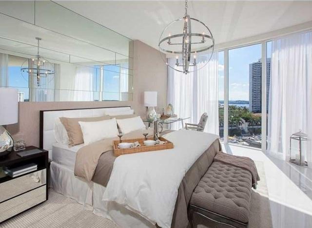 dormitorio bien iluminado terraza vistas