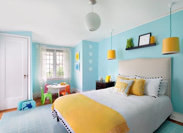 dormitorio infantil varios colores vivos