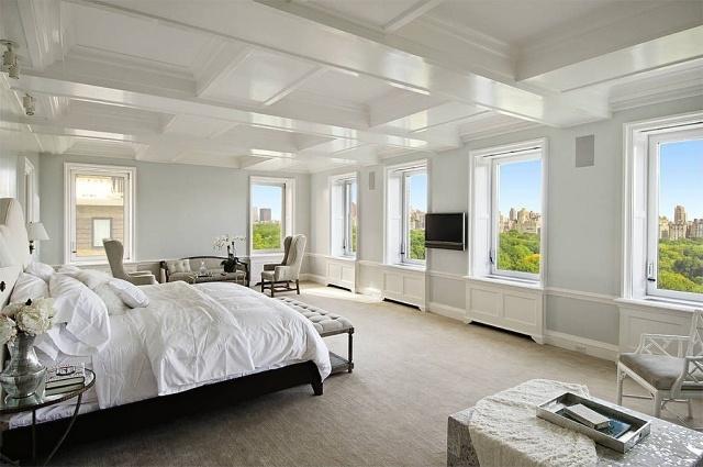 dormitorio estilo lujoso colores claros