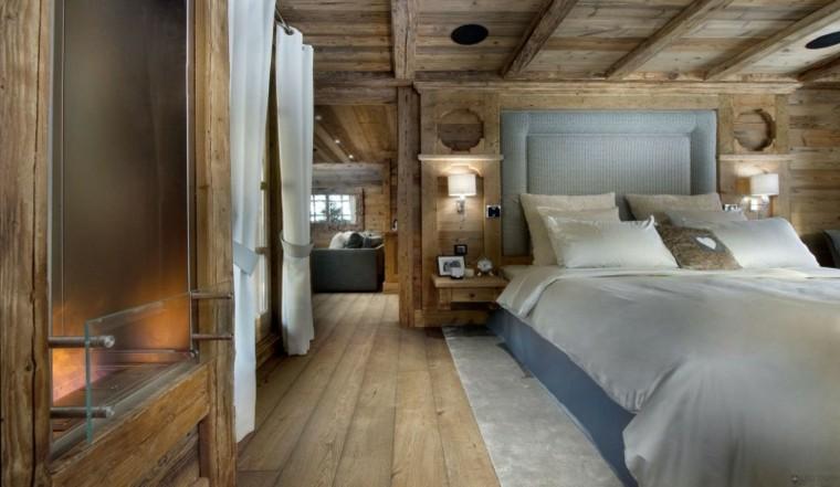 diseño madera estilo rustico
