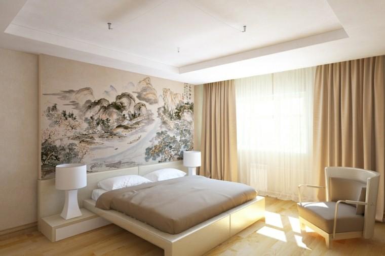 dormitorio estilo moderno color beige