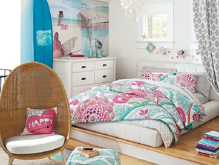 Dormitorios juveniles 100 ideas para tu adolescente - Camas para chicas ...