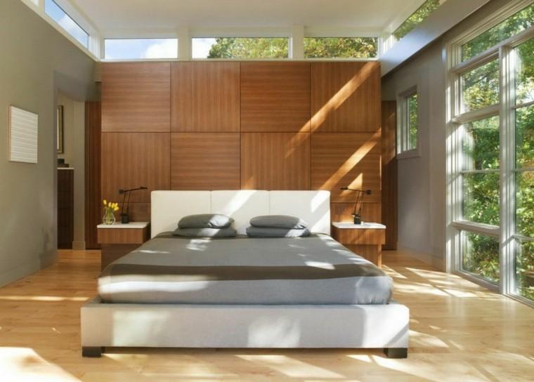 Revestimiento de paredes de dormitorios 50 ideas for Disenos de paredes para dormitorios
