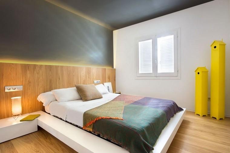 dormitorio torres casas amarillas apartamento