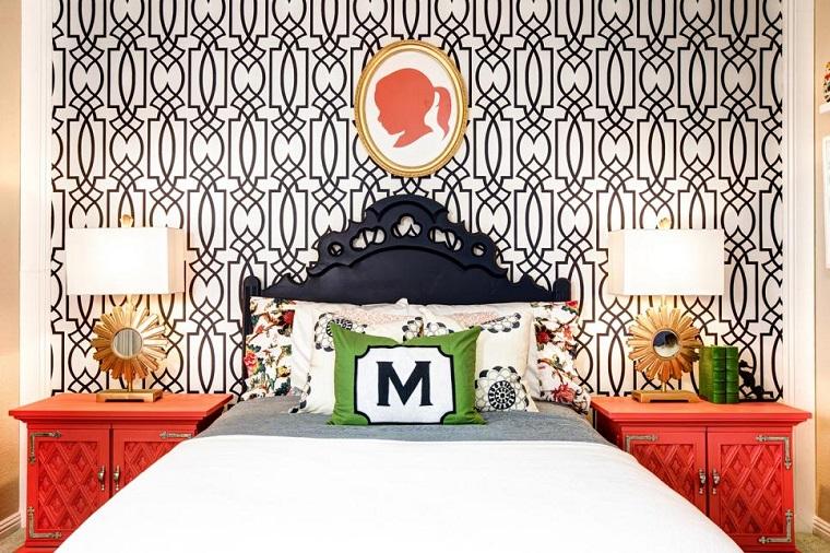 dormitorios chicas crecidas papel pared dormitorios juveniles ideas with papel para decorar paredes de dormitorios