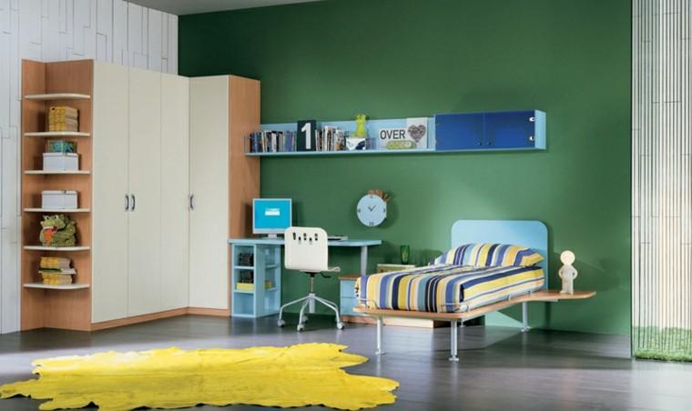dormitorios adolescentes amplios armarios grandes ideas