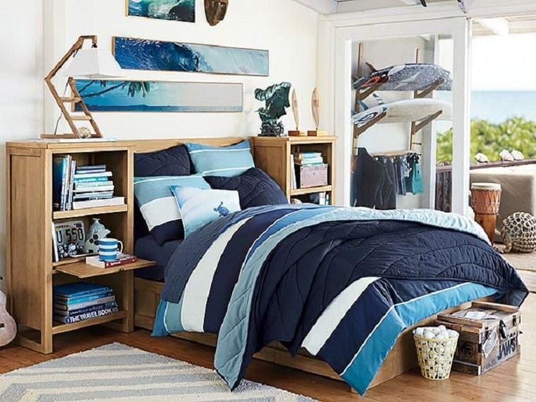 Dormitorios juveniles 100 ideas para tu adolescente - Dormitorios juveniles clasicos madera ...