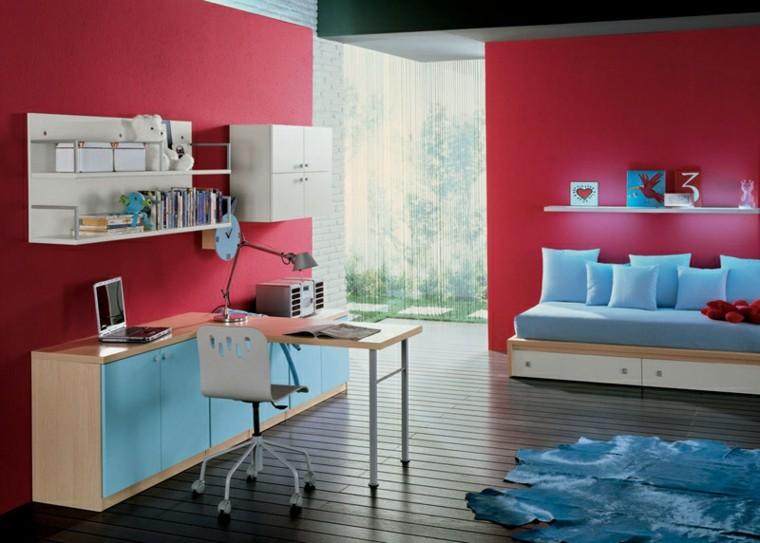 Dormitorios juveniles 100 ideas para tu adolescente - Fotos de cuartos juveniles ...