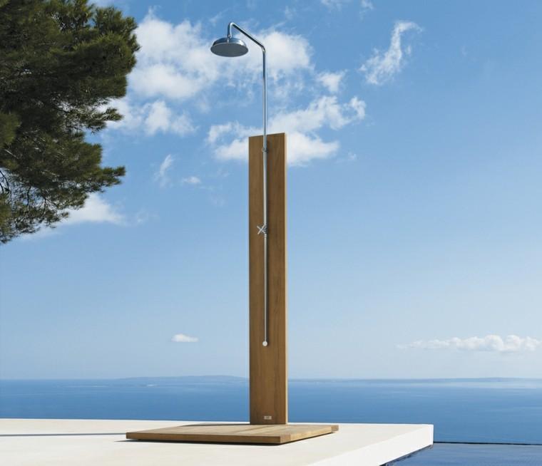 ducha moderna pie madera link