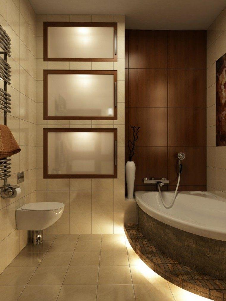 Efectos originales para tu iluminaci n exterior e interior - Iluminacion banos pequenos ...