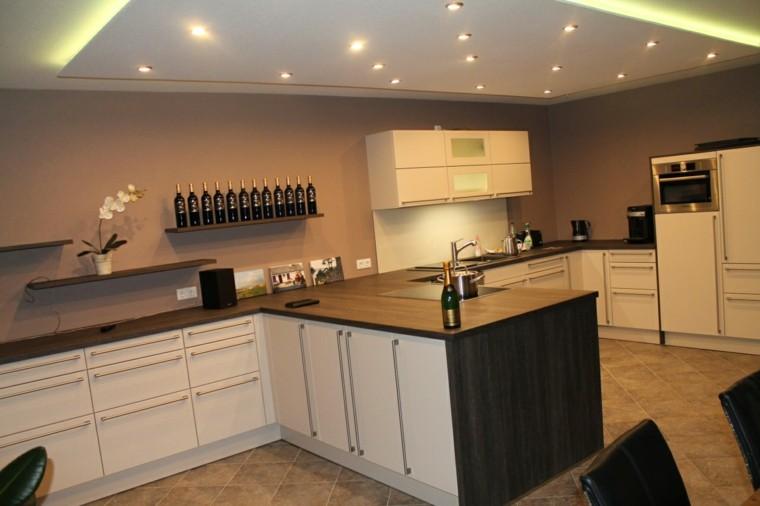 cocina iluminacion cocina muebles efectos originales para tu iluminacin exterior e interior